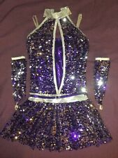 Sequin Dance Costume Adult Size S