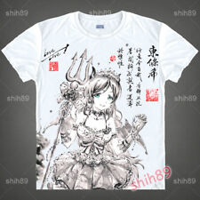 Anime Nozomi Tojo LoveLive! Tee T-shirt Short Sleeve Unisex Tops Ink Print #B34