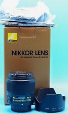Nikon NIKKOR AF-S 35mm f/1.8 SWM AS RF SIC ED Lens Mint in Box
