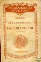Descartes = LES PRINCIPES DE LA PHILOSOPHIE