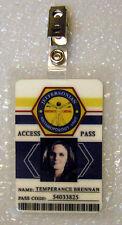 Bones Jeffersonian TV ID Badge-Temperance Brennan costume prop cosplay