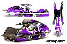 AMR RACING JET SKI GRAPHICS DECAL WRAP KIT KAWASAKI JETSKI 800 SX/R STAR PURPLE