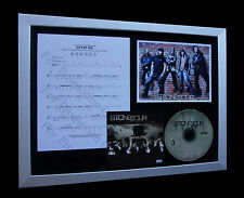 STONE SOUR ZZYZX Rd LIMITED Numbered CD GALLERY QUALITY MUSIC FRAMED DISPLAY!!