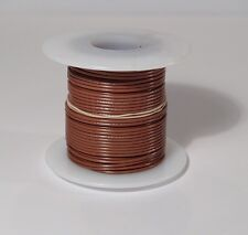 24 AWG UL1007 UL1569 BROWN Hook-up Wire 100 foot spools ~ 10 Colors Available!