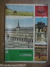 Vecchio quaderno scolastico usato di scuola Da Serie PIGNAMONDO La Spagna della