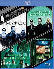 4 Film Favorite - The Matrix Collection (Blu-ray Disc, 2015, 4-Disc Set)