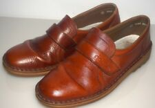 MENS RIEKER BROWN LEATHER SHOES - SIZE 7 UK / 41