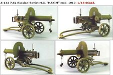 "Tank 1/16 7.62 Russian-Soviet Machine Gun (MG) ""MAXIM"" mod.1910. A-132"