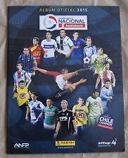 Chile 2015 Panini album Campeonato Nacional ScotiaBank Soccer Cup