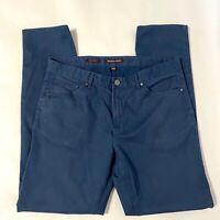 Men's Size 34/32 Blue Michael Kors Parker Slim Fit Pants