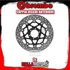 2-78B40850 COPPIA DISCHI FRENO ANTERIORE BREMBO DUCATI MONSTER S2 R DARK 2006- 8