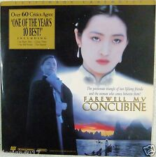 FAREWELL MY CONCUBINE Laserdisc Exotic Story of Love & Betrayal LD