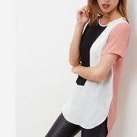Womens Chiffon Casual Loose Shirt Plus Size Ladies Long Sleeve Top Blouse Tee