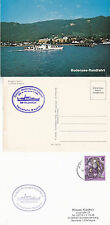 AUSTRIAN RIVER CRUISER MS FELDKIRCH A SHIPS CACHED COVER & CACHED POSTCARD