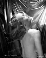 8x10 Print Carole Lombard Beautiful Glamour Portrait Backless Dress #CLEC