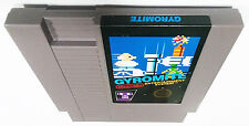 Gyromite (Authentic Nintendo NES Game) 5 screw version Cleaned & Tested FREE S&H