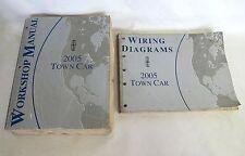 Genuine Lincoln Town Car OEM Shop Manual Workshop Wiring Diagram Repair
