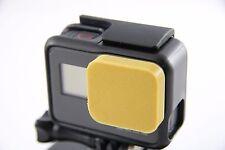 GoPro Go Pro Hero 5-Protezione Lenti Lens Caps cappuccio Protector Cover Accessori ORO