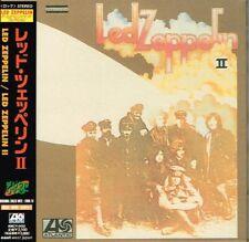 """Led Zeppelin """"Led Zeppelin II"""" Japan Mini-LP CD w/OBI AMCY-2432"""