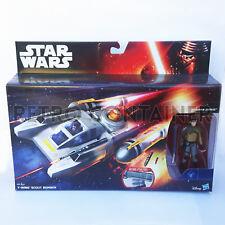 STAR WARS Kenner Hasbro Figure - TFA - Y-Wing Scout Bomber + Kanan Jarrus
