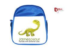 Personalizado Niños Mochila Bolsa Mochila Dinosaurio-Nuevo! de Regalo-cualquier nombre