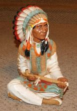 Beautiful 1980 Universal Statuary Cigar Store Indian Chief Figure FREE SHIPPING