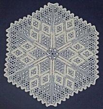 Snowflake Torchon Bobbin Lace Pattern Lacemaking *Pattern Only*