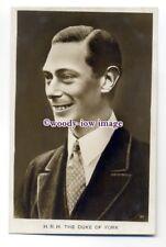 r1530 - Duke of York who became King George VI - postcard