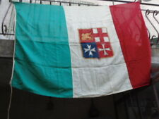 GRAND DRAPEAU ANCIEN ITALIE / ETAMINE 39-45 2ème GM  ? WW2 ITALY FLAG ?