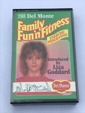 the del monte family fun 'n fitness with liza goddard  cassette