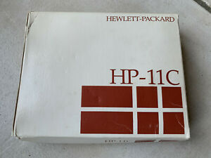 Calculatrice Scientifique Hewlett Packard Hp 11c Hp11c calculator comme neuf