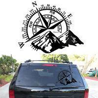 Hood Sticker Compass Totem Car Decal Vinyl Bonnet Sticker For Jeep Off-road SUV