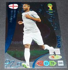 ASHLEY COLE ENGLAND EXPERT FOOTBALL CARD PANINI FIFA WORLD CUP BRASIL 2014