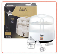 ❤ Tommee Tippee Closer to Nature Essentials Electric Steam Steriliser BPA Free ❤