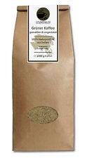 Grüner Kaffee gemahlen - Indien Robusta 1kg - Green Coffee Abnehmen Diät