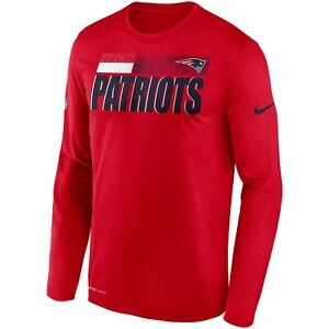 New England Patriots Men's Nike Sideline Coach's Poly Tee - NWT - FREE SHIPPING!