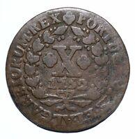 1752 Portugal Ten 10 Reis - Jose I - Lot 1315