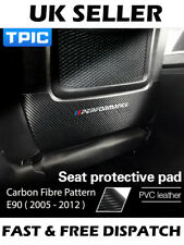Anti Scuff Seat Sticker Protection M Sport Carbon Fibre Effect Fits BMW E90