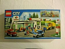 60132 LEGO City Service Station - Cars Street Sweeper 515 Pcs Sealed New in Box
