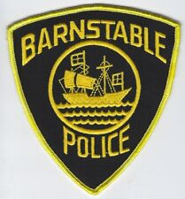 **BARNSTABLE MASSACHUSETTS POLICE PATCH**