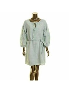 INC Womens Green Bell Sleeve Above The Knee Fit + Flare Dress XL