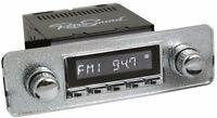 RetroSound 1968-85 Volkswagen Beetle Zuma Radio AM FM/RDS/USB/AUX CHROME
