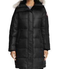 New Canada Goose Authentic 2018 Rowley Fur Trimmed Parka Nwt Black