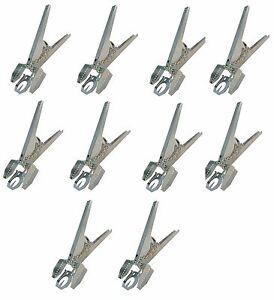 1-12 Scissor Mole Traps Claw Excellent Professional Mole Control Trap Galvanised