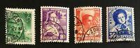 Schweiz Pro Juventute 1936 Mi: 306-309 gestempelt/o