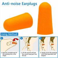 EarPlugs foam soft Orange sleep travel noise shooting 200 Pair/Set ear plugs