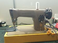 Iconic Singer 201P heavy duty sewing machine Great Britain full set
