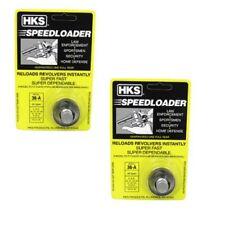 2-Pack HKS Speedloader 357 Magnum Fits 5-shot S&W J Frame, Taurus 605 Ruger 36-A