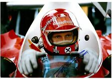 Niki Lauda Signed 12x8 Photo Formula One Ferrari F1 Autograph Memorabilia COA