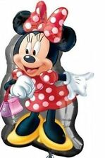 Minnie Mouse Red dress Birthday Party 20 in x 34in Super Shape Foil Balloon